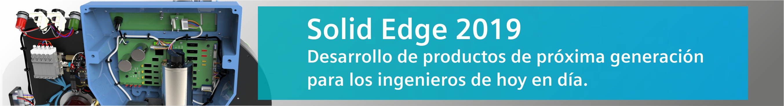 Solid Edge 2019 banner zift