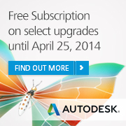 Free Subscription for a year on select upgrades until April 25, 2014.*