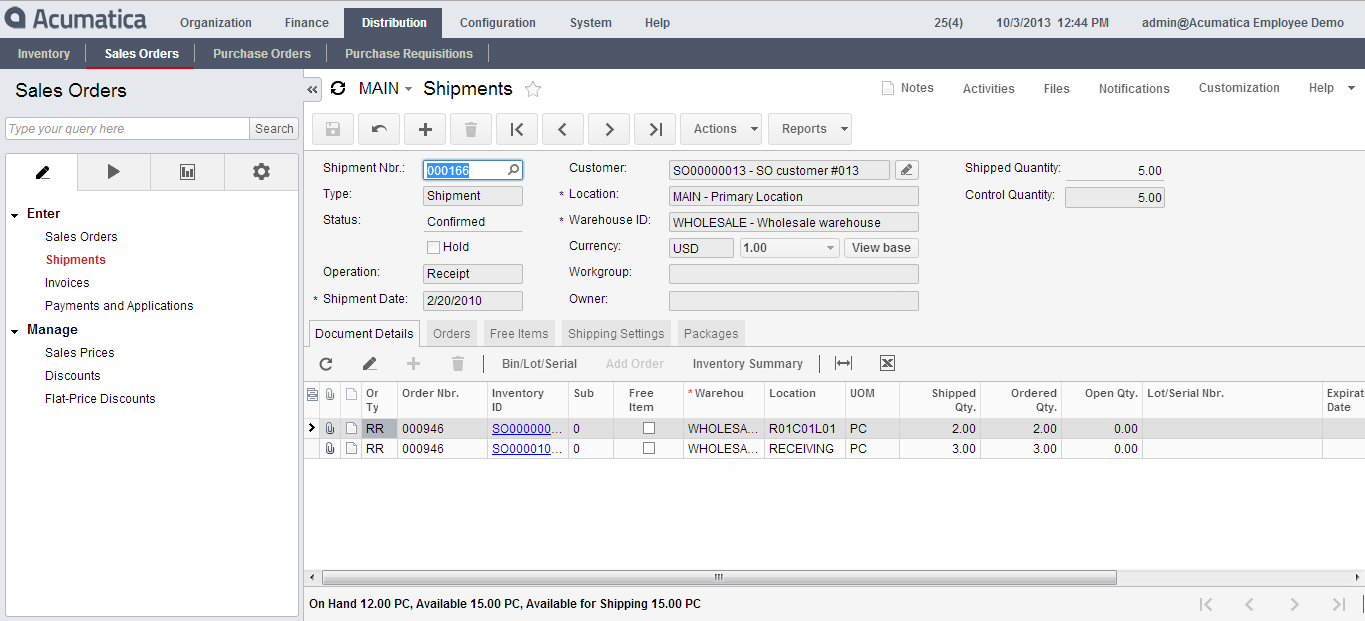 Sales Order Management Software - Advanced Business Software Corp