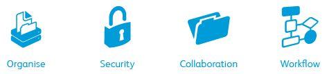 Organisation - security - collaboration - workflow